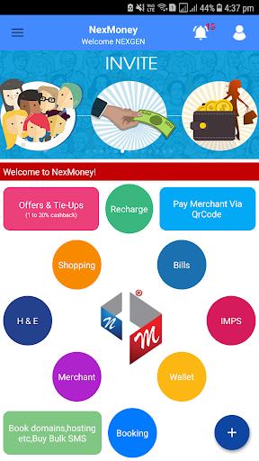 NexMoney App Wallet: Innovative Ways Of Earning... скриншот 1