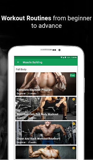 Fitvate - Home & Gym Workout Trainer Fitness Plans screenshot 14