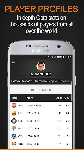 Soccerway screenshot 5