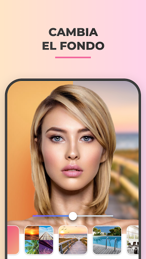 FaceApp: Editor facial, de maquillaje y belleza screenshot 4