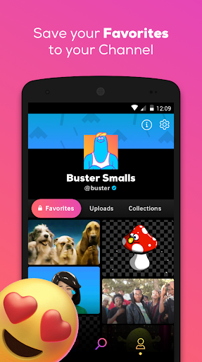 GIPHY: GIF & Sticker Keyboard & Maker screenshot 2