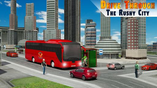 City Bus Simulator 3D - Addictive Bus Driving game स्क्रीनशॉट 1