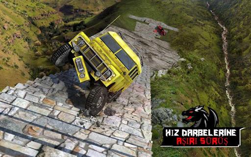 Ejderha Yol Sürme Simülatör: hız araba kaza Ölçek screenshot 15