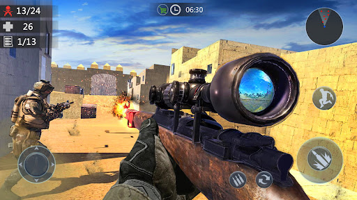Gun Strike: FPS Shooting Games screenshot 1