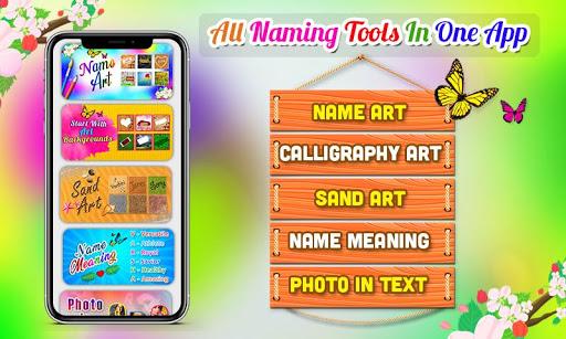 Name Art Photo Editor - 7Arts Focus n Filter 2021 screenshot 1