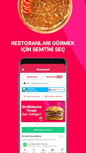 Yemeksepeti - Yemek & Market Siparişi screenshot 2