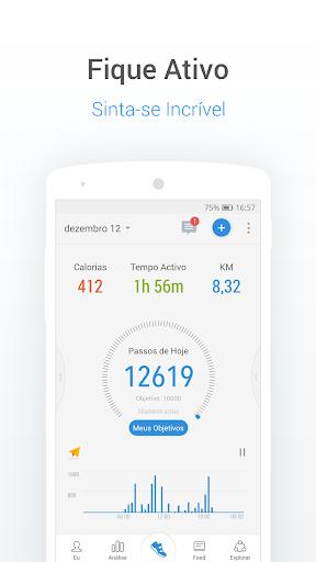 Contador De Passos E Calorias Com Pedômetro screenshot 1