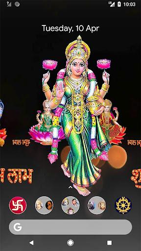 4D Lakshmi Live Wallpaper screenshot 8