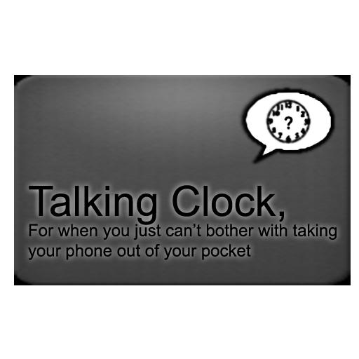 Talking Clock icon