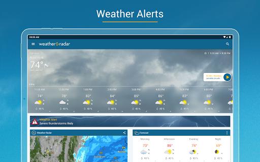 Weather & Radar - Storm radar screenshot 17