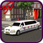 Wedding Luxury Limousine 3D on 9Apps