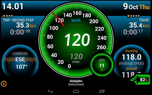 Ulysse Speedometer 9 تصوير الشاشة