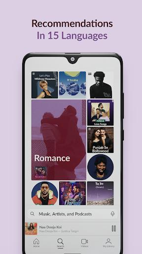 JioSaavn Music & Radio – JioTunes, Podcasts, Songs screenshot 2