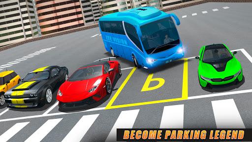 Modern Bus Parking Simulator - City Bus Games 2021 screenshot 1