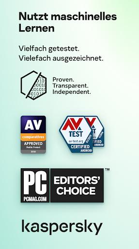Kaspersky Sicherheit: Antivirus und Handy Schutz screenshot 8