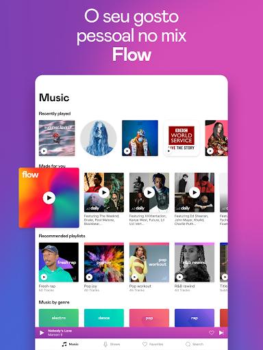 Deezer: Ouvir Músicas, Playlists e Podcasts screenshot 10