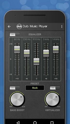 Dub-Musik-Player - Equalizer & Überblendung screenshot 8