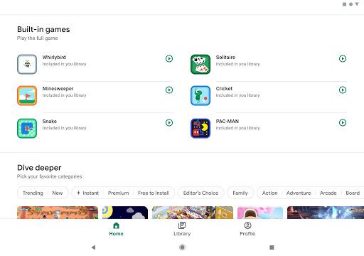 Google Play Spiele screenshot 8