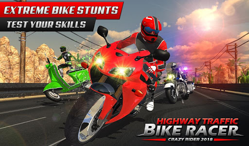 Highway Rider Bike Racing: Crazy Bike Traffic Race screenshot 7