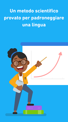 Impara l'inglese con Duolingo screenshot 1