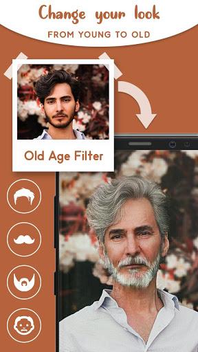 Old Age Face effects App: Face Changer Gender Swap screenshot 6