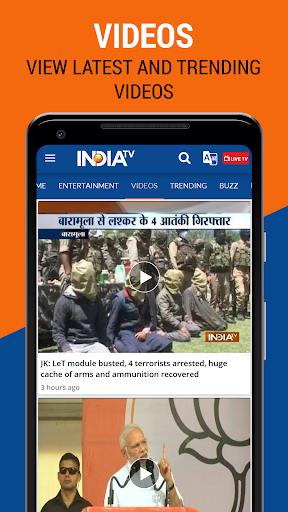 India TV - Latest Hindi News Live, Video 8 تصوير الشاشة