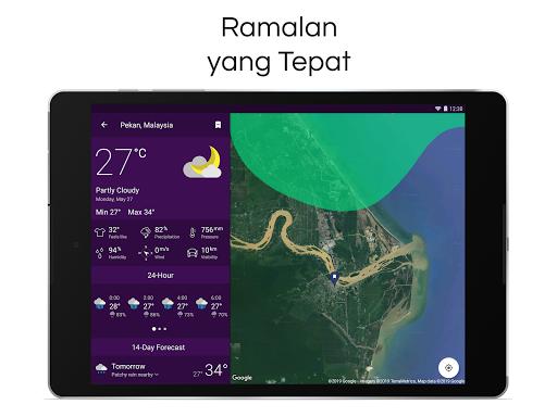 Clime: Radar Cuaca dan Ramalan screenshot 11