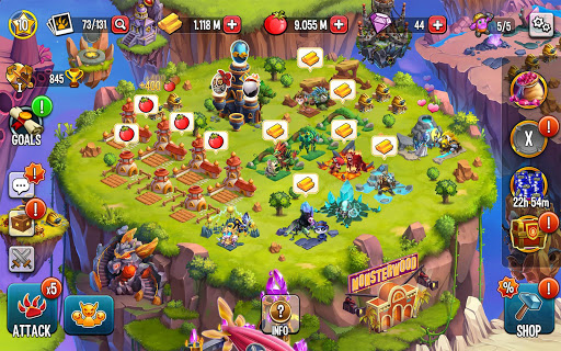 Monster Legends: Breed, Collect and Battle स्क्रीनशॉट 12