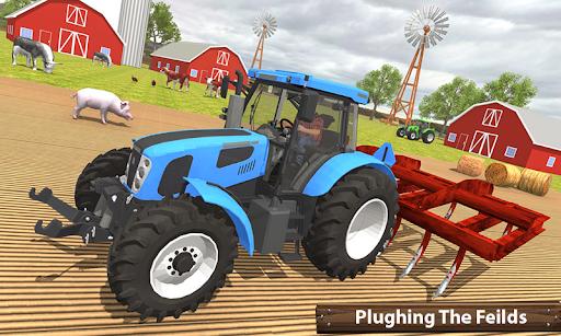 ซิมเกษตรรถแทรกเตอร์อินทรีย์: การเก็บเกี่ยวขนาดใหญ่ screenshot 4