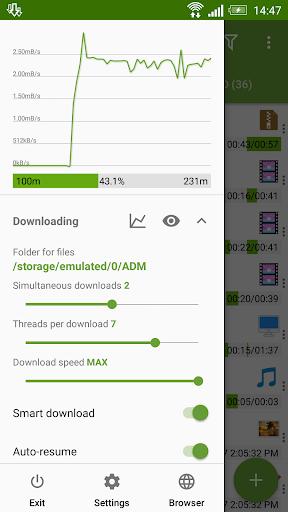 Advanced Download Manager & Torrent downloader screenshot 2