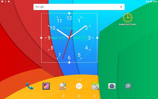 Analog Clock Live Wallpaper-7 screenshot 12