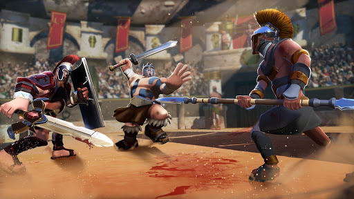 Gladiator Heroes - Fighting and strategy game screenshot 8