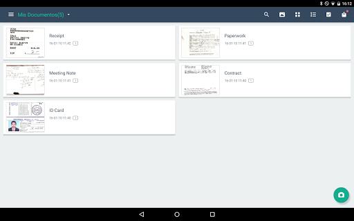 CamScanner Escáner PDF, Escáner de documentos screenshot 16