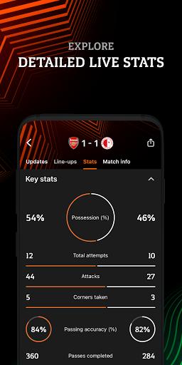 Europa: official football app screenshot 5