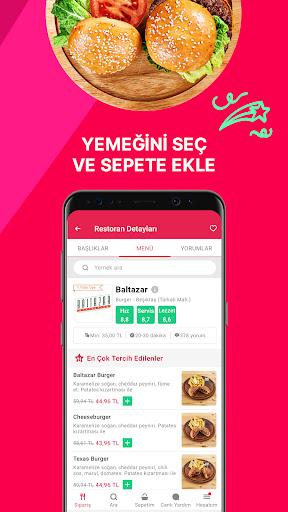Yemeksepeti - Yemek & Market Siparişi screenshot 4
