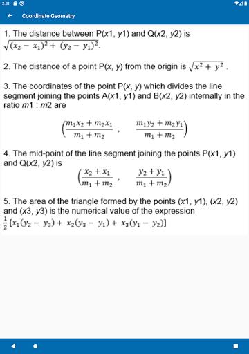 Math Formulas - Class 6 to 12 screenshot 12