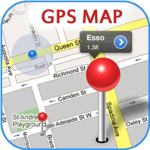 GPS Kaart Gratis icon
