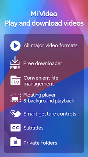 Mi Video - Play and download videos screenshot 1