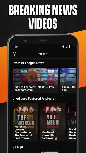 LiveScore: Live Sports Scores screenshot 6