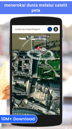 gps satelit - hidup bumi peta & suara pelayaran screenshot 1