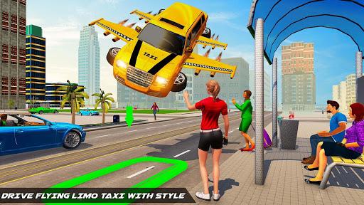 Big City Limo Car Driving Taxi Games screenshot 3