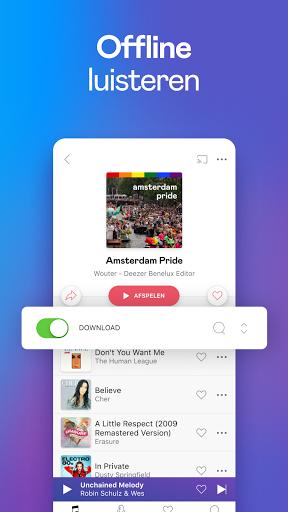 Deezer - Muziek, Podcasts & Luisterboeken screenshot 3