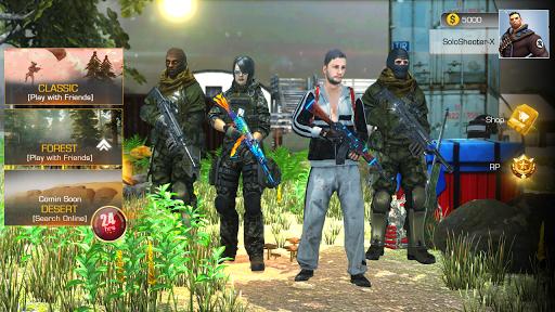 PVP Shooting Battle 2020 Online and Offline game. screenshot 1