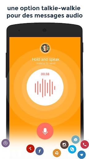 Contacts & Téléphone - drupe screenshot 5