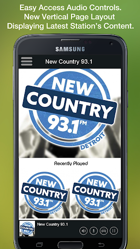 New Country 93.1 скриншот 2