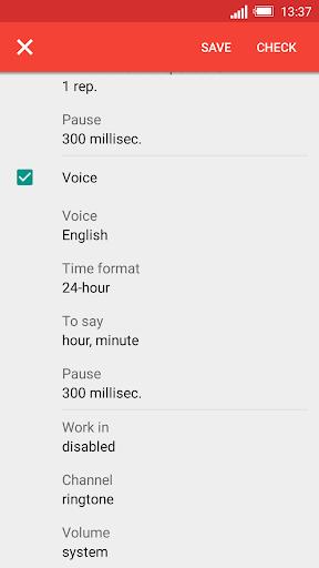 Konuşan Saat ve Alarm DVBeep screenshot 5