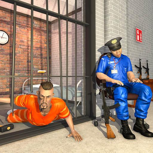 Grand US Police Prison Escape Game