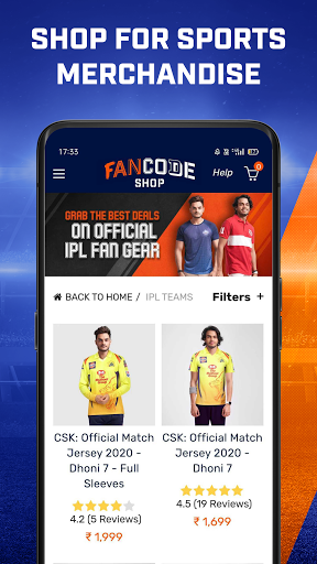 Watch LIVE Cricket & Fast Sports Scores: FanCode screenshot 8