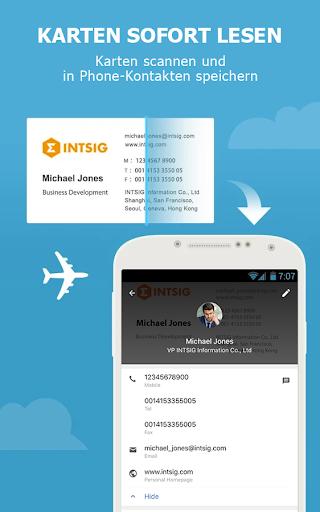 CamCard - Business Card Reader screenshot 2