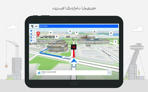 Sygic GPS Navigation & Offline Maps 11 تصوير الشاشة